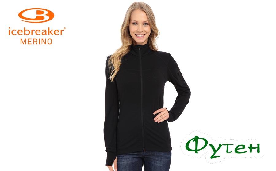 Куртка Icebreaker TERRA LS Zip WMN black