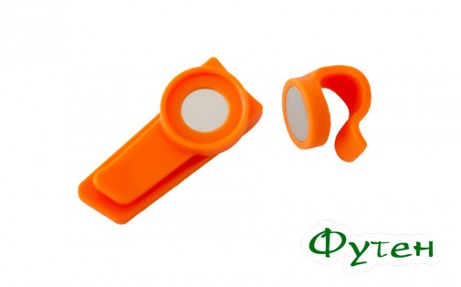 Магнитная клипса Source MAGNETIC CLIP orange