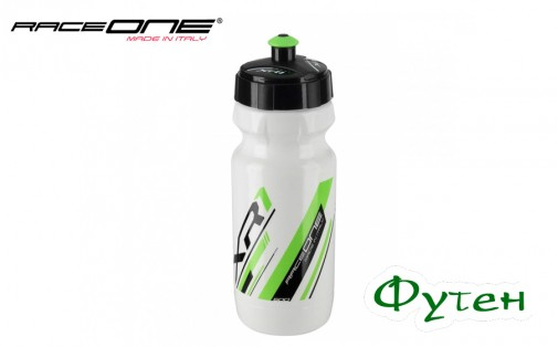 Фляга RaceOne Bottle XR1 white/green 600 мл