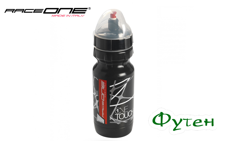 RaceOne Bottle Onetouch black/black