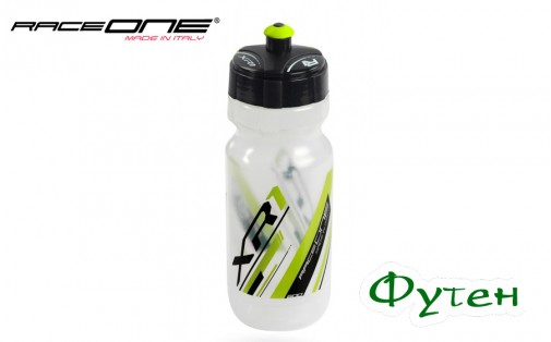 RaceOne Bottle XR1 white/yellow
