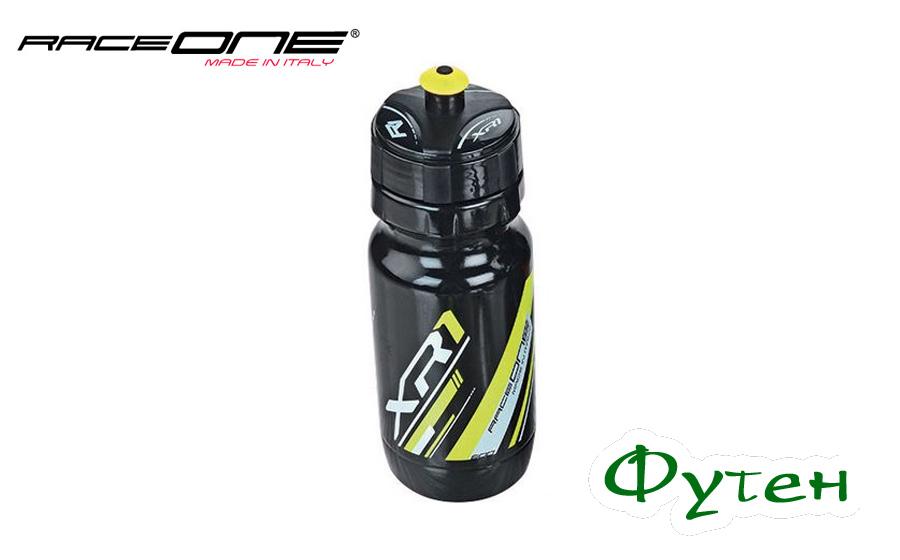 Фляга велосипедная RaceOne Bottle XR1 black/yellow
