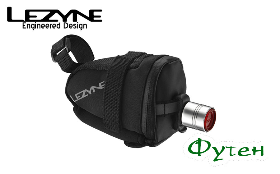 Lezyne LED FEMTO DRIVE REAR на сумке