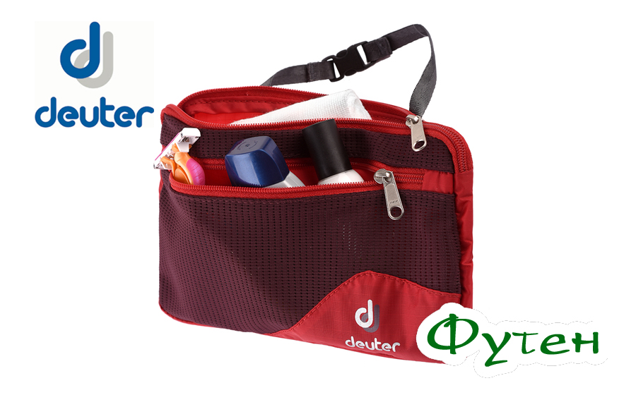 Сумочка Deuter WASH BAG LITE II fire-aubergine