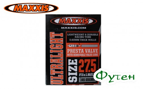 Камера Maxxis Ultra Light 27.5x1.90/2.35 FV