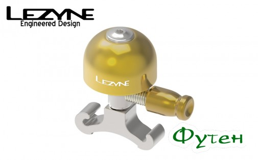 Звонок Lezyne CLASSIC BRASS BELL S серебристый