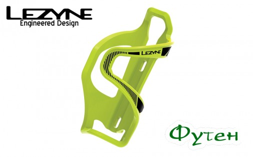 Lezyne FLOW CAGE SL-L ENHANCED зелёный
