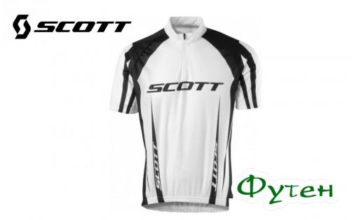 Джерси велосипедная SCOTT AUTHENTIC белая