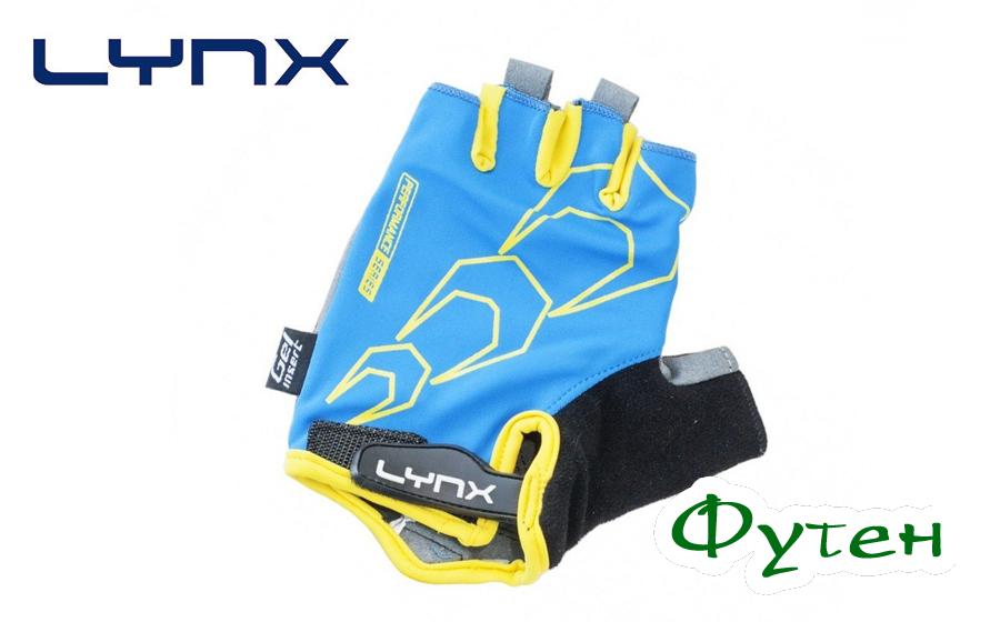 Велоперчатки Lynx RACE blue