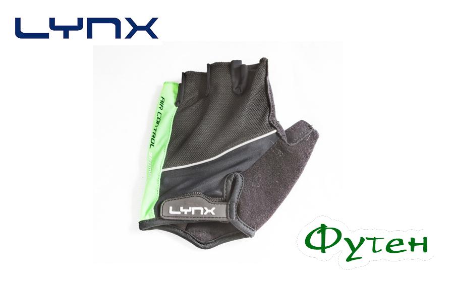Велосипедные перчатки Lynx PRO green