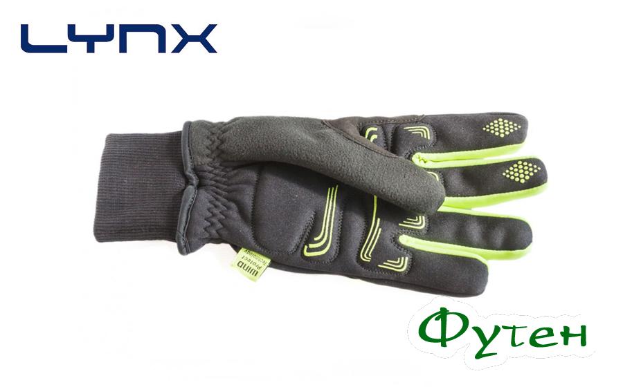Велоперчатки Lynx DEFROSTER black