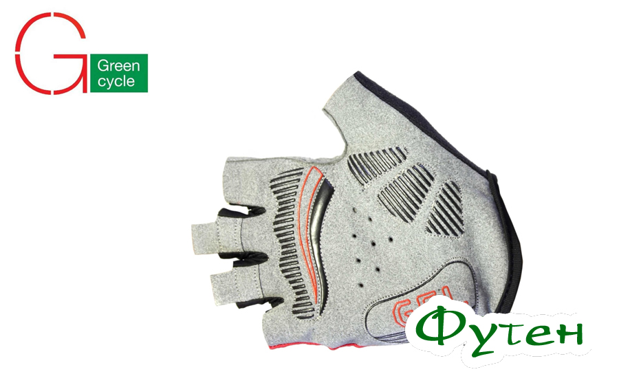 Мужские перчатки Green Cycle MTB Gel