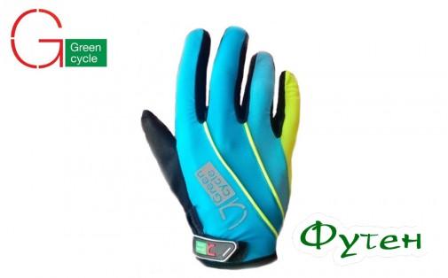 Велоперчатки Green Cycle MTB синие