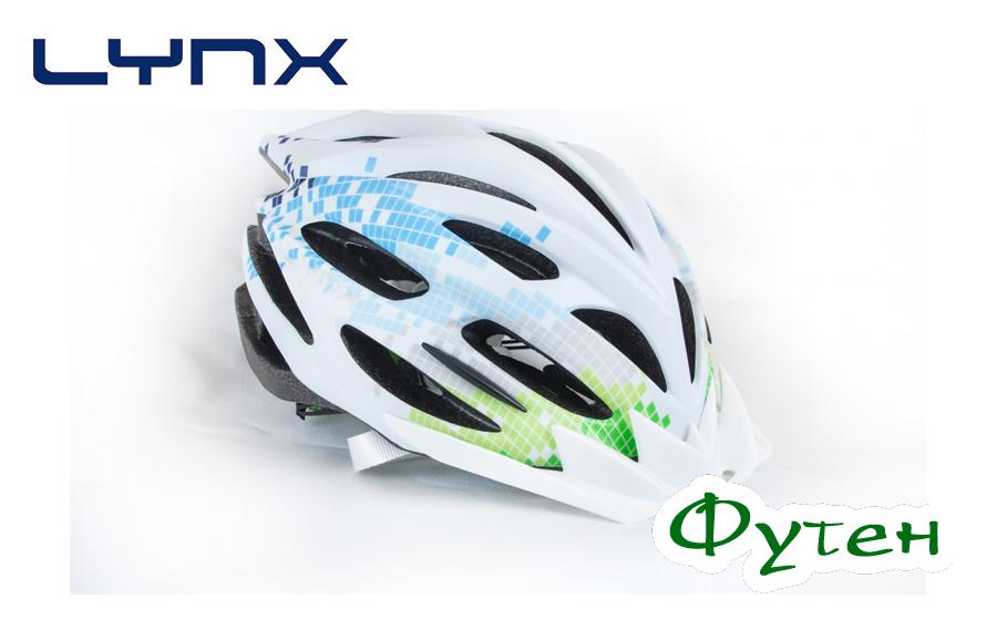 Велосипедный шлем Lynx LIVIGNO white