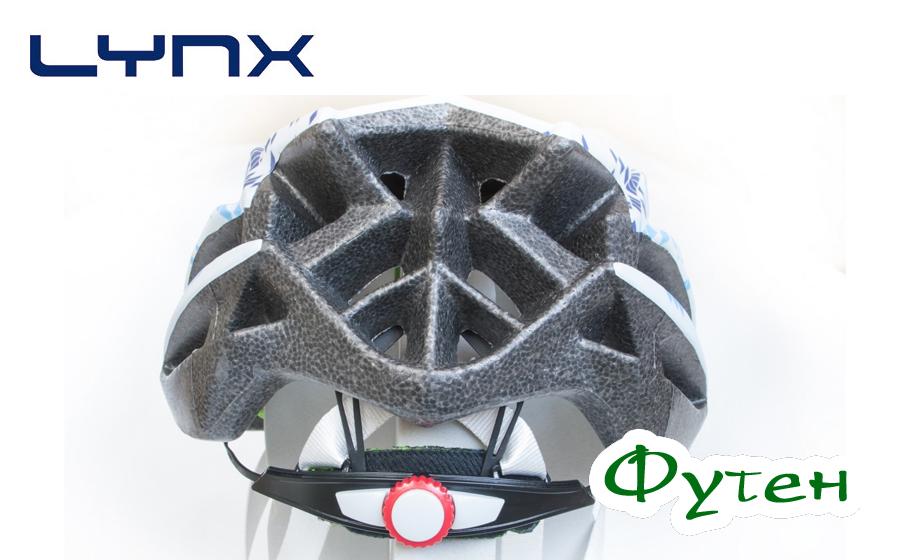Велошлем Lynx LIVIGNO white