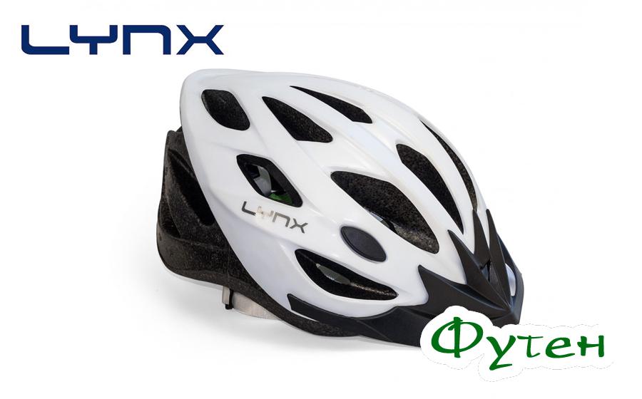 Велошлем Lynx WHISTLER matt white grey