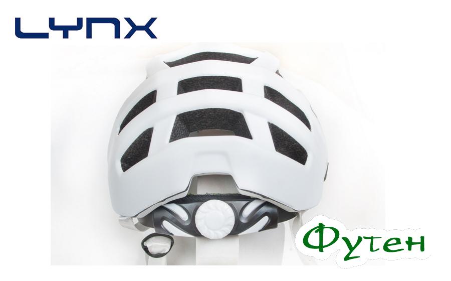 Велошлем Lynx CHAMONIX white