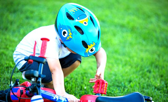 Виды велосипедных шлемов