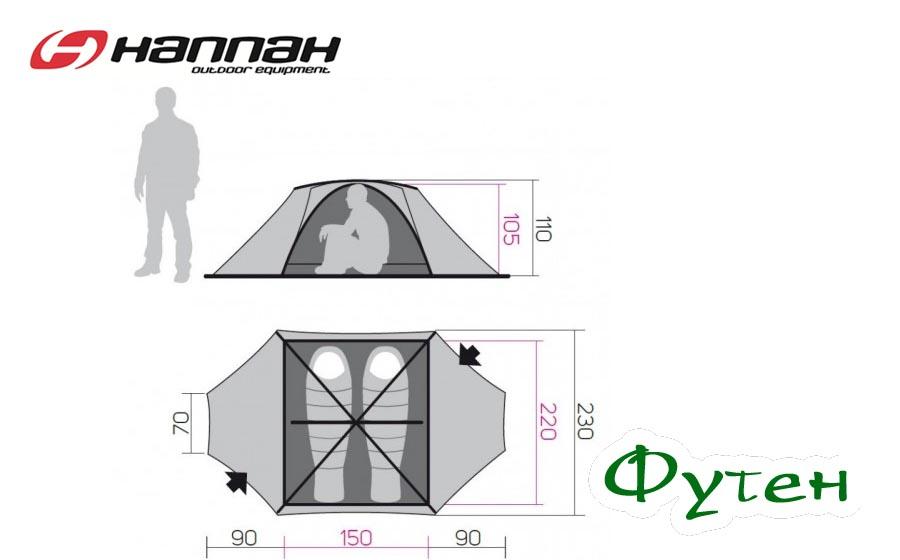 Размеры Hannah COVERT 2 WS