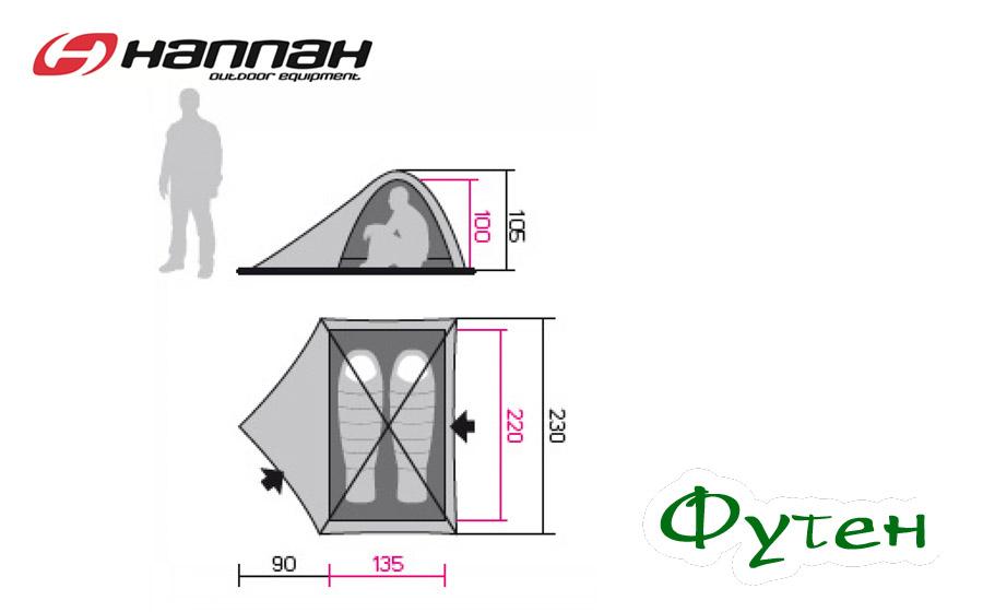 Размерная сетка HANNAH FALCON 2