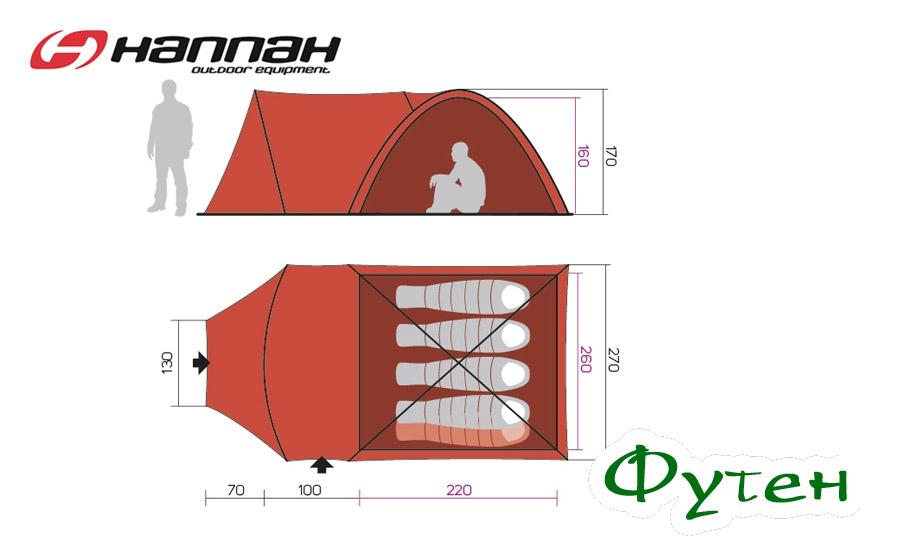 Размерная сетка HANNAH TRIBE 4